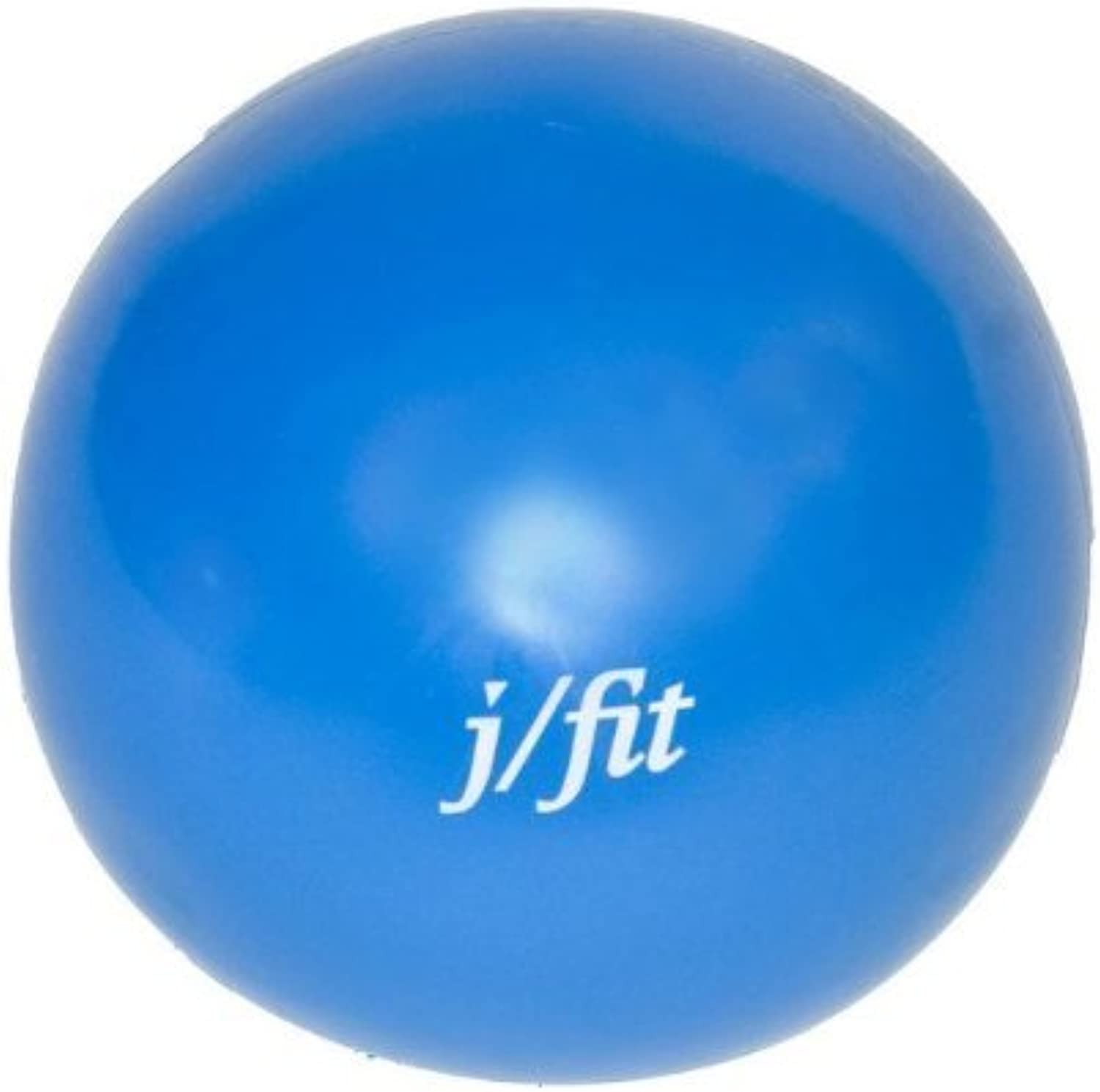 J fit 5lb Soft Weighted Toning Ball (colors May Vary) by j fit