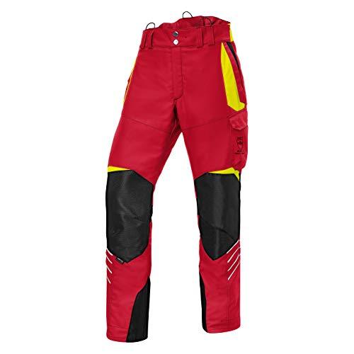 KÜBLER Workwear KÜBLER Forest Schnittschutzhose bunt, Größe L-89, Herren-Schnittschutzhose aus Mischgewebe, leichte Schnittschutzhose