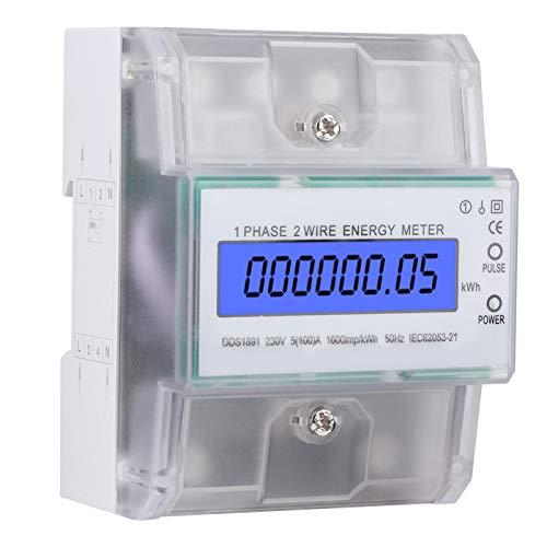 Misuratore di energia su guida Din 230V monofase su guida Din 4P per circuiti per tecnologia microelettronica