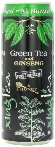 Xingtea Green Tea with Ginseng, 23.5 Ounce (Pack of 12)