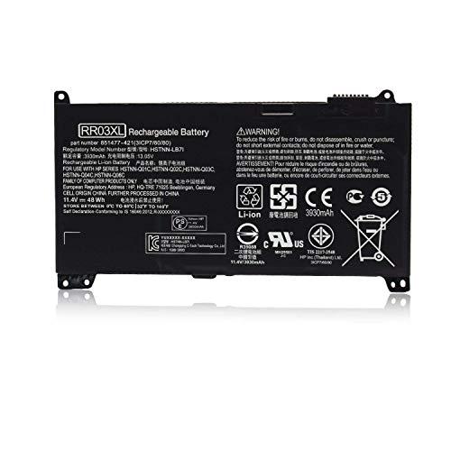 ASKC 11.4V 48Wh RR03XL Laptop Akku für HP ProBook 430 440 450 455 470 G4 mt20 Series 851477-421 851477-541 851477-831 851610-850 HSTNN-LB7I HSTNN-PB6W