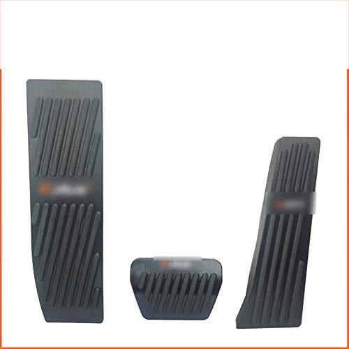 LZZCTB Auto-Bremspedal Gaspedalauflagen Aluminium, Für BMW M E46 E60 E90 E91 E92 E93 E87 E88