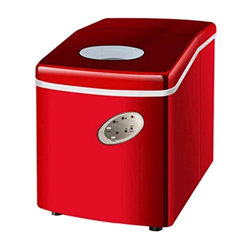 CDPC Máquina de Hielo para Hacer Cubitos de Hielo, Tienda de té Comercial, Mini Barra de Escritorio Manual para el hogar, máquina para fabricar Cubitos de Hielo Redondos