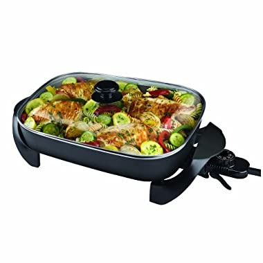 Black & Decker SK1215BC Family Sized Electric Skillet, Black