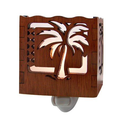 Palm Tree Tropical Night Light 3.5' X 3.25'