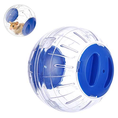 FuYouTa Hamsterball Hamster Laufball gesundes und sicheres Mini-Run-Übungsball für Kleintiere Laufkugel Nagerspielzeug zum Laufen Kunststoff