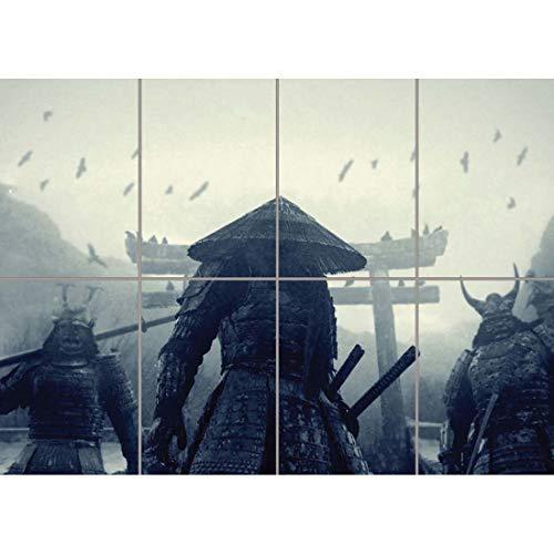 Doppelganger33LTD Asian Warriors Samurai Japan Japanese Giant Wall Art Print Picture Poster B1125