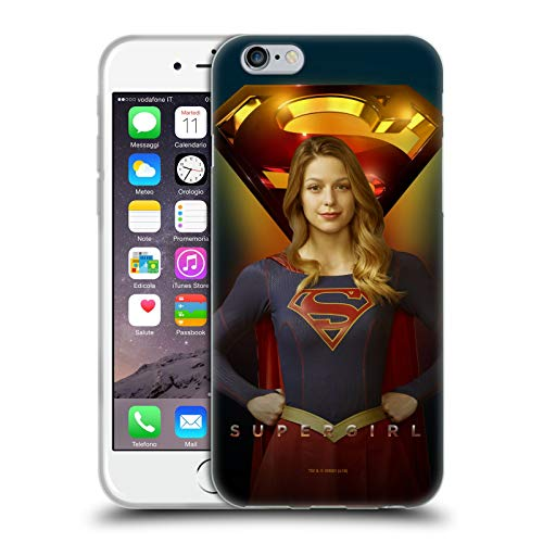 Head Case Designs Ufficiale SuperGirl TV Series Kara Danvers Arte Chiave Cover in Morbido Gel Compatibile con Apple iPhone 6 / iPhone 6s