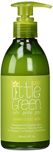 Little Green Shampoo & Body Wash Baby - Shampoo & Bagnoschiuma 2In1 Per Neonati - 240 Ml