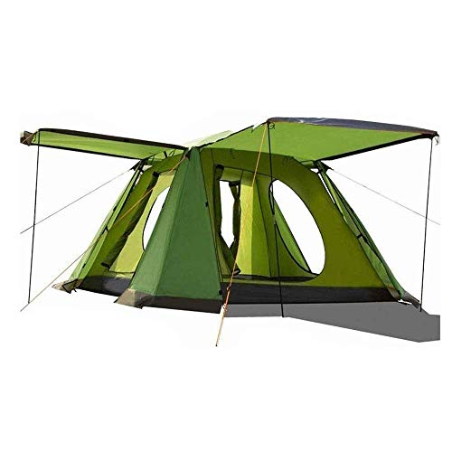 YASE-king Automatic Pop-up Tent, Outdoor Camping Beach Garden Fishing Picnic Rain and Wind Shelter, 215 X 215x 150cm