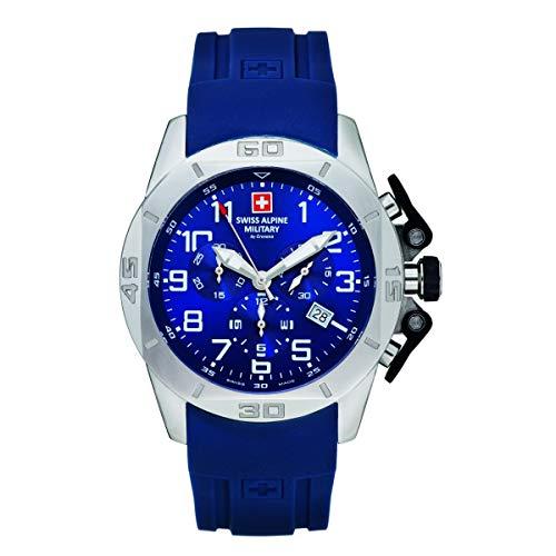 Swiss Alpine Military 7063.9835 heren horloge 45 mm