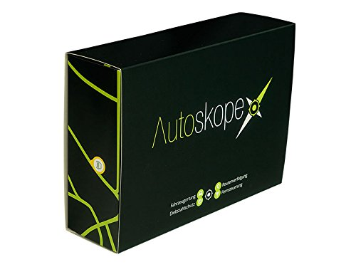 Autoskope-Starterset inkl. SIM, Datenübertragung, Webportal und App: GPS-Ortung, GPS-Tracker, Fahrzeugortung, Routenverfolgung, Alarmierung, Auto, Boot, Motorrad, LKW