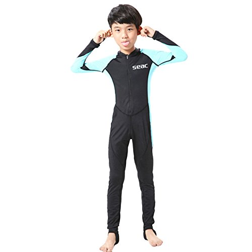 S023 S024 S025 S026 Kind Eendelig Duikpak 2.5mm Surfing Wetsuit jongen unhooded