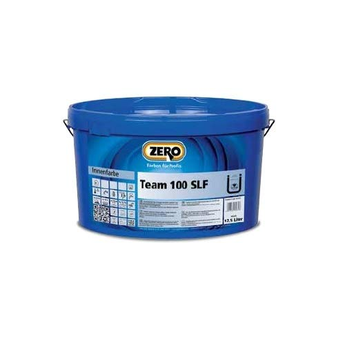 Zero Team 100 weiß 5l Wandfarbe Innenfarbe Wohnraumfarbe