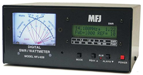 MFJ-828 Digital SWR/Wattmeter/Freq Counter1500w. Buy it now for 309.95