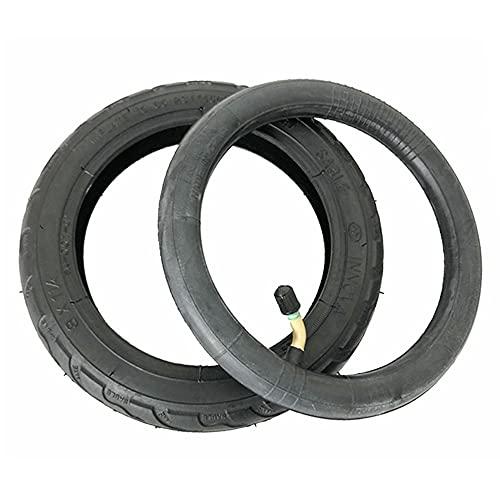 SUIBIAN Neumáticos de Scooter eléctrico, 8x1 1/4 200x45 Neumáticos Antideslizantes Resistentes al Desgaste, adecuados para Scooter de 8 Pulgadas/Carro de bebé,1 Inner and Outer Tube