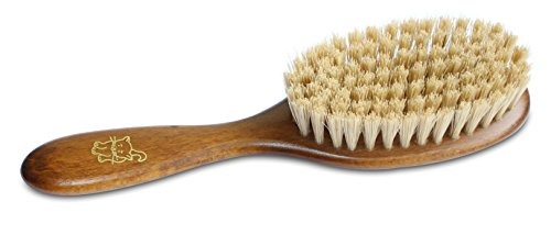 Mars Boar Bristle Cat Hair Brush, Made in Germany, 3/4' Bristles and 2' Wide Head