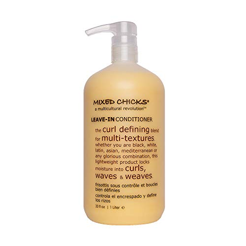 Mixed Chicks Curl Defining & Frizz Eliminating Leave-In Conditioner, 33 fl.oz.