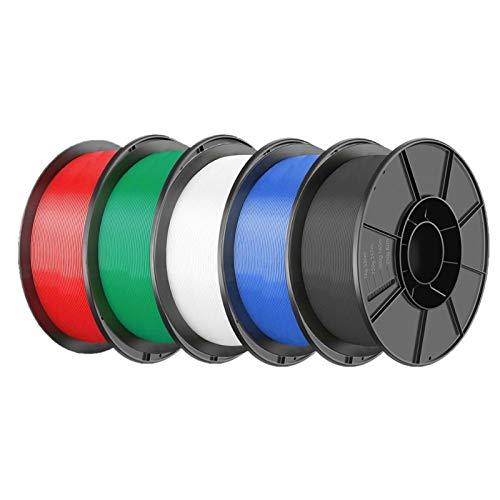 PrittUHU Parti della Stampante 3D PLA FILAMENTO 1.75mm PLA 1KG per Rotolo Materiale PLA per la Stampa 3D FILAMAMENTO PLA 3D Stampante filamento (Color : Combination)