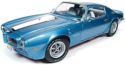 1972 Pontiac Firebird Trans Am 455 HO Adriatic Blau Limited Edition to 1002pc 1 18 by Autoworld AMM1076 by Pontiac