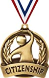 Crown Awards Citizenship Medals -2' and 50 Per Pack-Great for Celebration, Recognition, Achievement