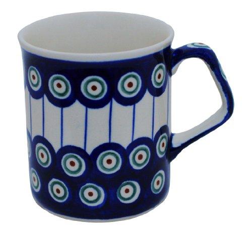 Original Bunzlauer Keramik Becher V=0.25 Liter im Dekor 8