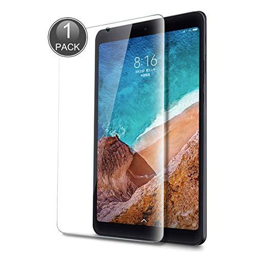 E-Hamii gehärtetes Glas, kompatibel mit Xiaomi Mi Pad 4 7.9, Premium-Bildschirmschutzfolie aus gehärtetem Glas, Kratzfest, schützt vor Fingerabdrücken, kompatibel mit Xiaomi Mi Pad 4 7.9