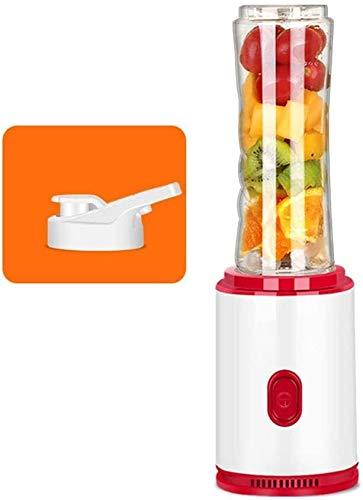 Qinmo Máquinas de expresión, licuadora con jarra de plástico, con contenedor de tritano sin BPA de 600 ml, exprimidor profesional de 23000 rpm de alta velocidad for batidos de jugo y batidos, batidos,