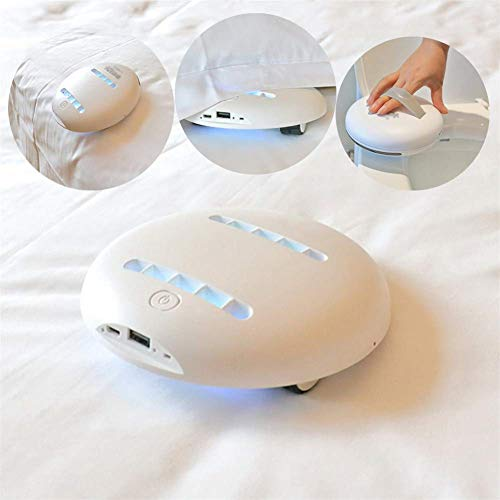 ZHX Wireless Anti Acari della Polvere aspirapolvere, rimozione Portatile Ultravioletta ad ultrasuoni Sterilizzazione Mite con Alta Pressione UV-C Gas Lampada per la casa, Magazzino, Hotel, Ufficio