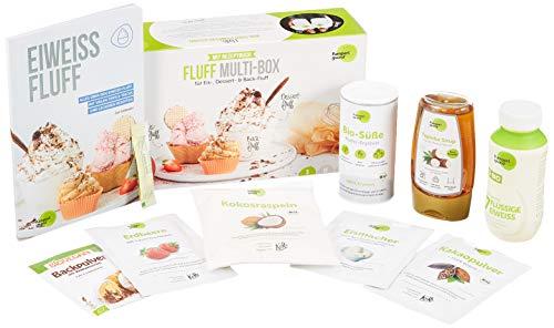 Pumperlgsund Fluff Starter-Box | Low Carb, zuckerfrei, glutenfrei (mit Bio-Eiweiß, S)