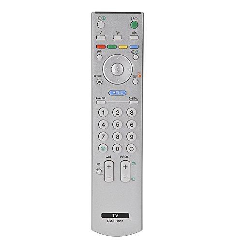 Fosa Mando a Distancia para Sony TV, Control Remoto Unviersal de Reemplazo para Sony RM-ED007