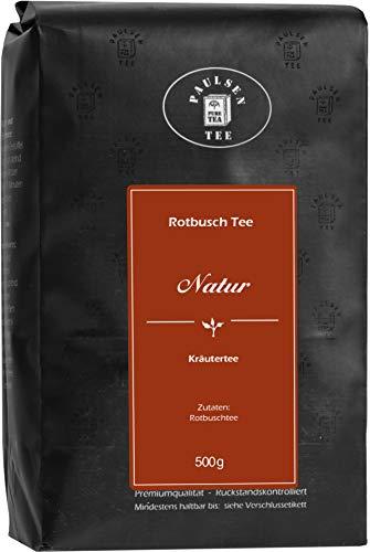 Natur 500g (29,50 Euro / kg) Paulsen Tee Rotbuschtee rückstandskontrolliert