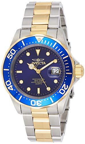 Invicta 9310 Pro Diver Unisex Uhr Edelstahl Quarz blauen Zifferblat