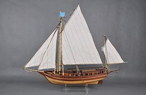 SIourso Maquetas De Barcos Kits De Construcción Escala 1/30 Clásicos Kits De Modelo De Velero De Madera El Spary Boston Moderno Velero Modelo De Bricolaje