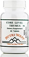 Core Level Thymus - 60 Tablets by Nutri West