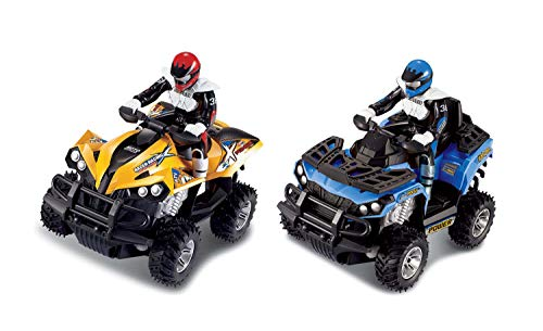 Grandi Giochi Quad Cross Country R/C, Farbe Gelb, GG-50499