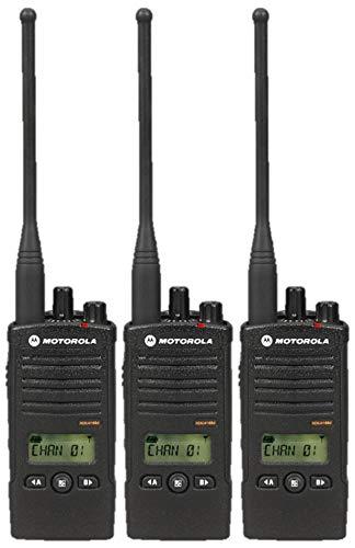 3 Pack of Motorola RDU4160d Two Way Radio Walkie Talkies