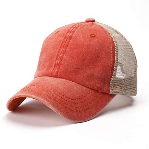 Snapback Schirm Baseballcap Schirmmütze Kappe Hip Hop Trucker Unisex Canvas·Kits