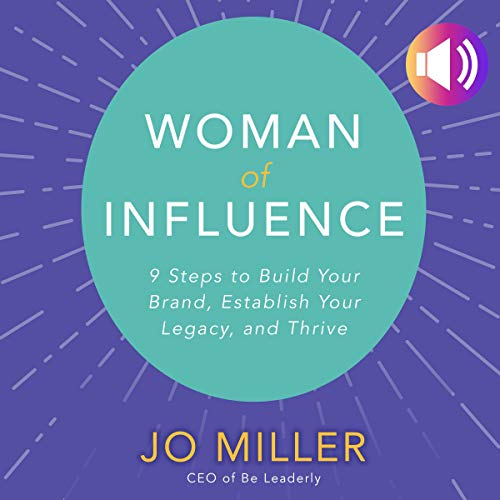Woman of Influence audiobook cover art