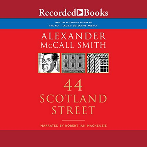 44 Scotland Street audiobook cover art