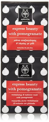 Apivita express beauty Revitalizing & Radiance Mask with Pomegranate 2x8ml from Apivita
