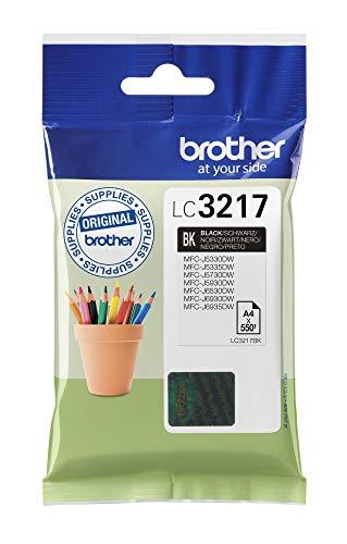 Brother Original Tintenpatrone LC-3217BK schwarz (für Brother MFC-J5330DW, -J5335DW, -J5730DW, -J5930DW, -J6530DW, -J6930DW, -J6935DW)