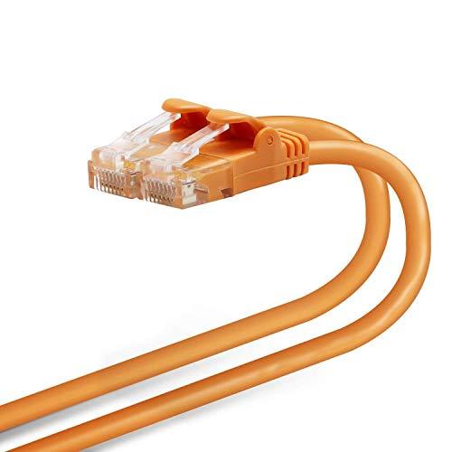 エレコム LANケーブル 2m 爪折れ防止コネクタ やわらか CAT6準拠 オレンジ LD-GPY/DR2