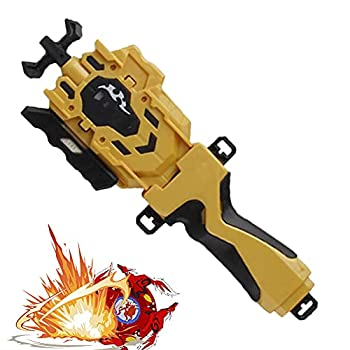 Beyblades Launcher and Grip Light Precision Strike Launcher Gyro LR Spin Support L/R Rotation for All Bey Burst Series Beyblades