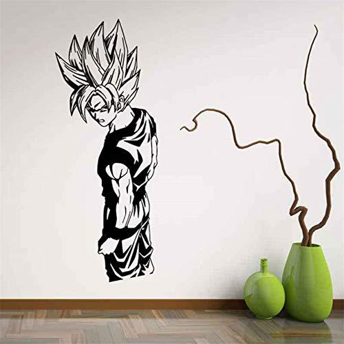 Tianpengyuanshuai Cartoon Vinyl Wohnzimmer Cartoon dekorative Wohnzimmer Kunst Wandbild abnehmbare Wandaufkleber 69X26cm