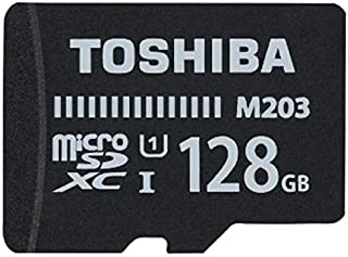 Toshiba 128 GB Memory Card For Mobile Phones - Micro SD High Capacity Cards - M203K1280EA