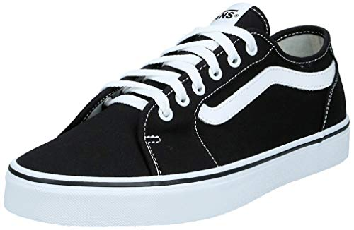 Vans Filmore Decon, Zapatillas para Hombre, Negro (Canvas) Black/White 187), 39