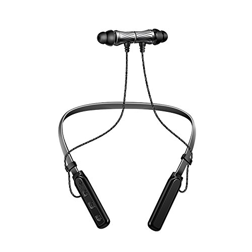 OPAKY Bluetooth-Funkkopfhörer Stereo-Sport Ohrhörer In-Ear-Headset, für iPhone, iPad, Samsung, Huawei,Tablet usw