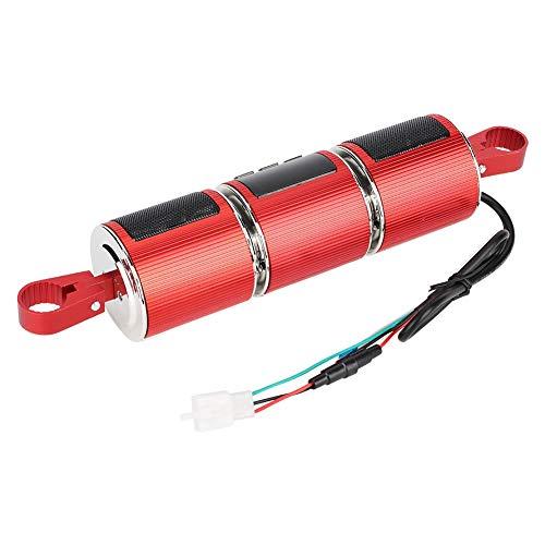 Radio de la motocicleta, audio de la motocicleta del reproductor de música del USB, amplificador para el hogar(red, Pisa Leaning Tower Type)