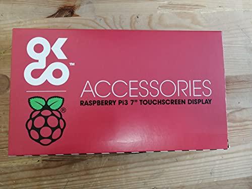 Raspberry 2473872 Pantalla táctil V2, 8MP, 7 pulgadas